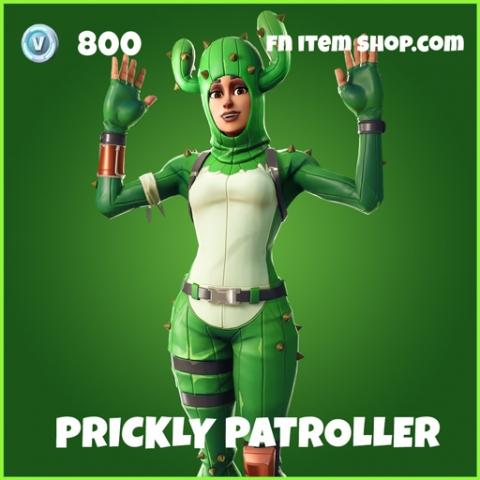 prickly patroller uncommon fortnite skin
