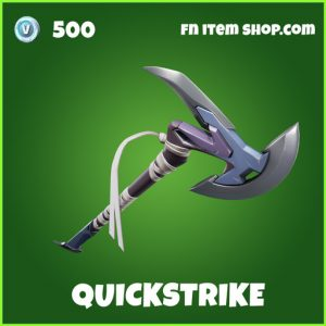 Quickstrike uncommon fortnite pickaxe
