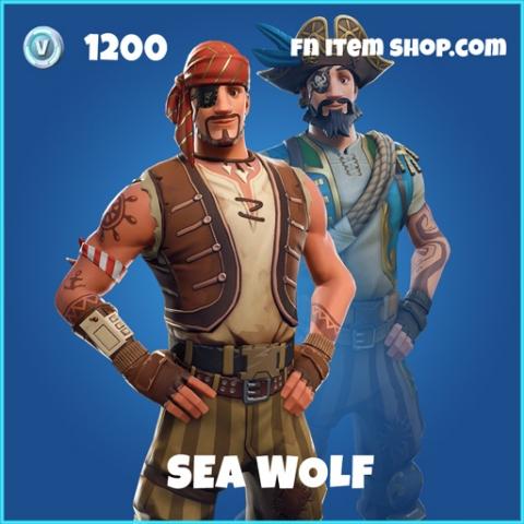 Sea Wolf rare fortnite skin