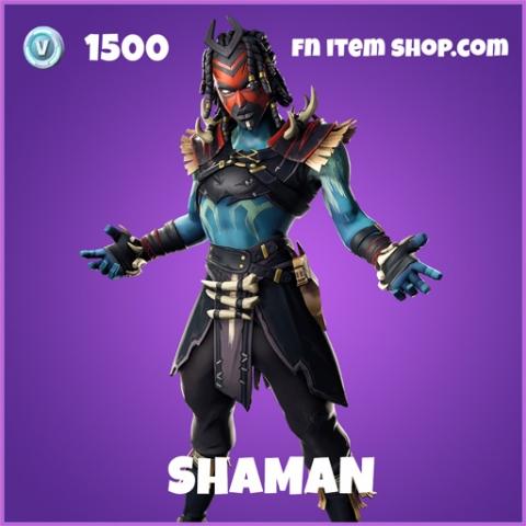Shaman epic fortnite skin