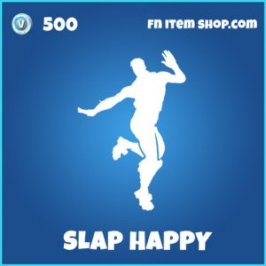 slap happy rare fortnite emote