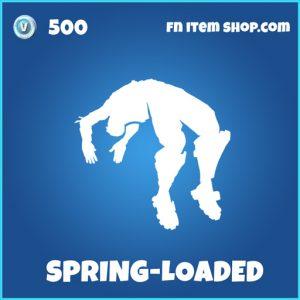 spring-loaded rare fortnite emote