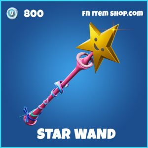 star wand rare fortnite pickaxe