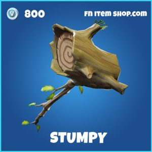 stumpy rare fortnite pickaxe