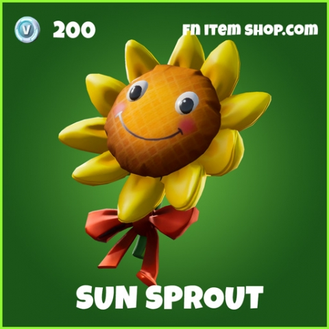 Sun Sprout uncommon fortnite backpack