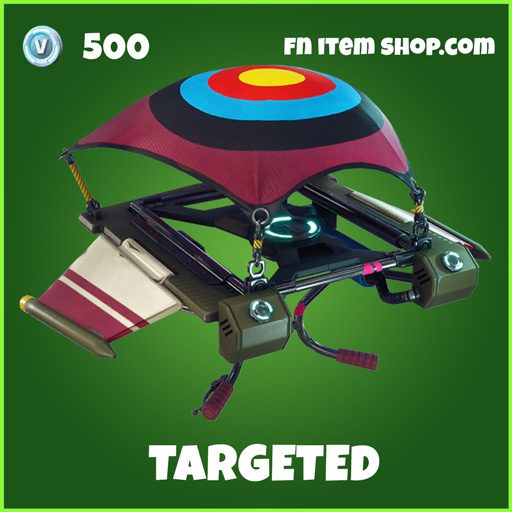Targeted uncommon fortnite glider