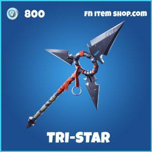 tri-star rare fortnite pickaxe