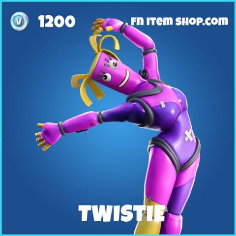 Twistie rare fortnite skin