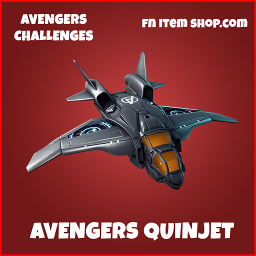 Avengers Quinjet fortnite glider