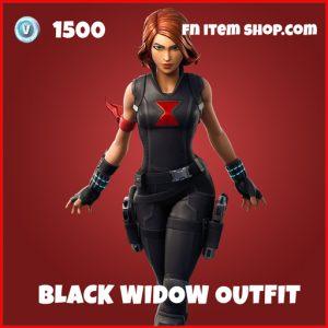 Black Widow Outfit marvel fortnite skin