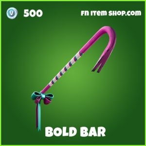 Bold Bar Uncommon Fortnite pickaxe
