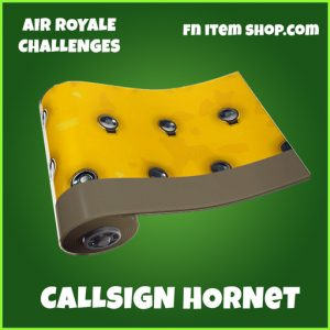 Callsign Hornet uncommon wrap