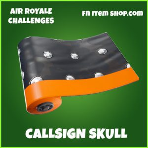 Callsign Skull uncommon wrap