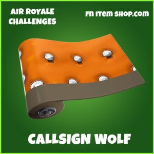 Callsign Wolf uncommon wrap