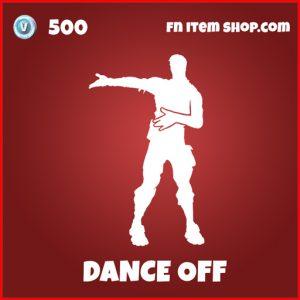 Dance Off marvel fortnite emote