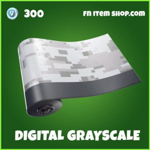 Digital Grayscale fortnite wrap