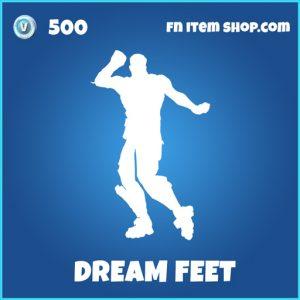 Dream Feet rare fortnite emote