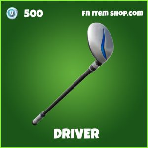 Driver uncommon fortnite pickaxe