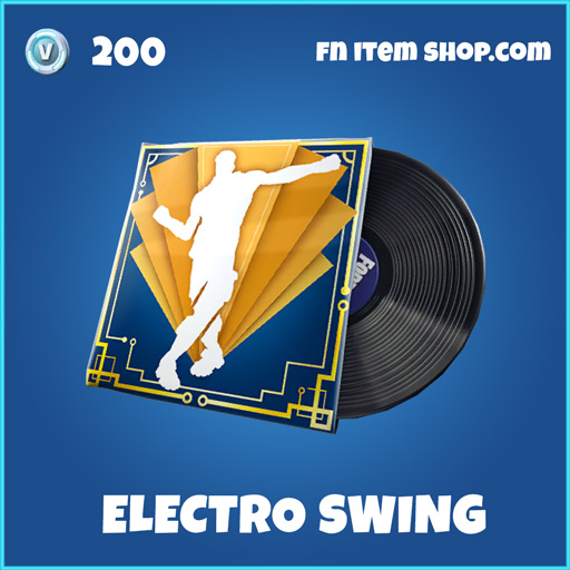 Electro Swing Rare Fortnite music