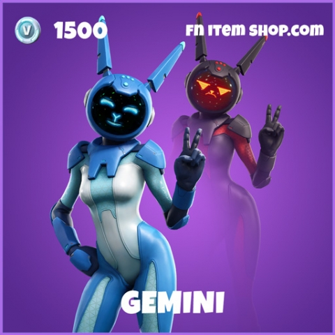 Gemini Epic Fortnite Skin