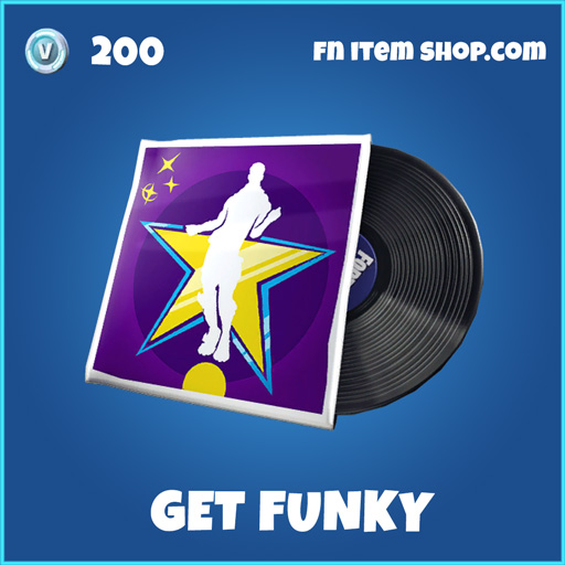Get Funky rare fortnite music pack