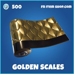 Golden scales rare fortnite wrap