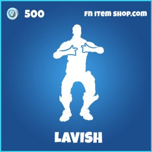 Lavish rare fortnite emote