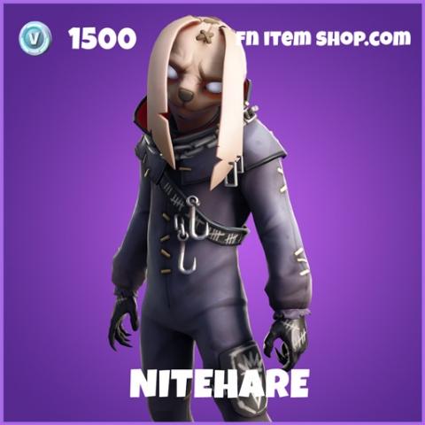 Nitehare epic fortnite skin