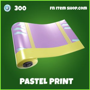 Pastel Print Uncommon fortnite wrap