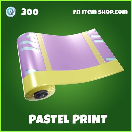 Pastel-Print