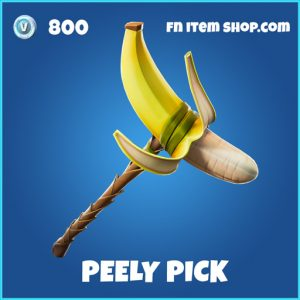Peely Pick rare fortnite pickaxe