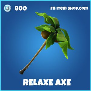 Relaxe Axe rare fortnite pickaxe