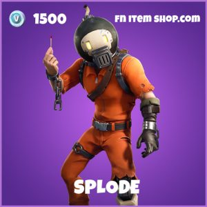 Splode Epic fortnite skin