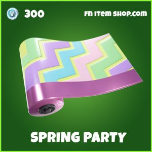 Spring Party Uncommon fortnite wrap