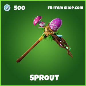 Sprout Uncommon fortnite pickaxe