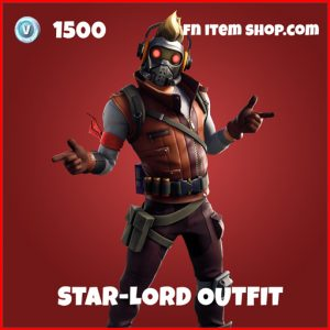 Star-Lord Outfit epic fortnite skin