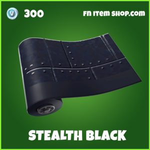 Stealth Black uncommon FOrtnite wrap
