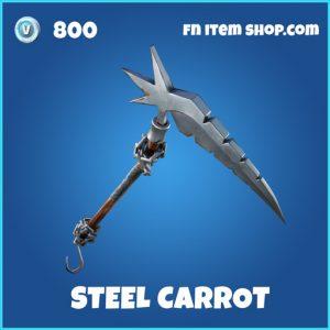 Steel Carrot rare fortnite pickaxe