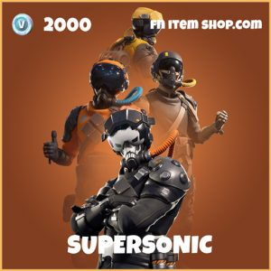Supersonic legendary fortnite skin