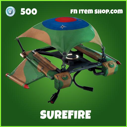 Surefire uncommon fortnite glider