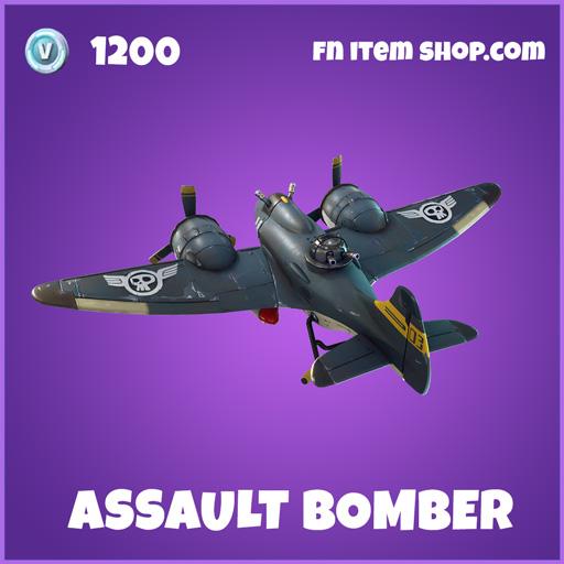 Assault Bomber epic fortnite glider