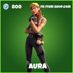 Aura uncommon fortnite skin
