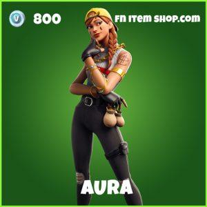 Aura uncommon fortnite skin