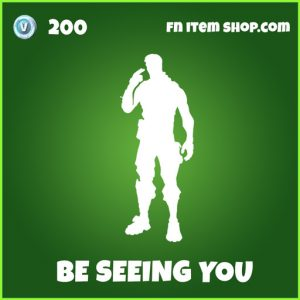 Be Seeing You uncommon fortnite emote