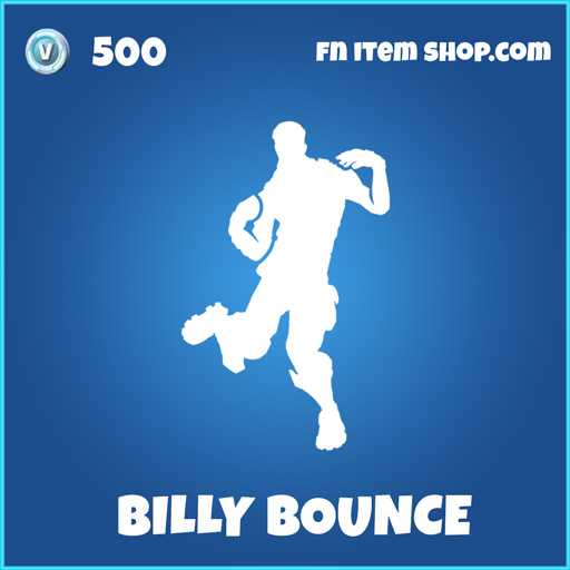Billy Bounce rare fortnite emote