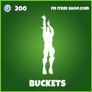 buckets uncommon fortnite emote
