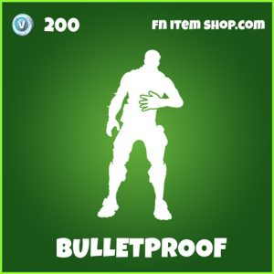 Bulletproof uncommon fortnite emote