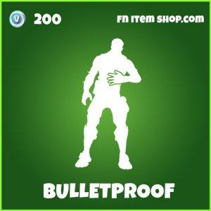 Bulletproof uncommon fortnite emote