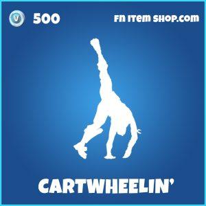 Cartwheeling' rare fortnite emote