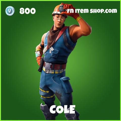 Cole uncommon fortnite skin